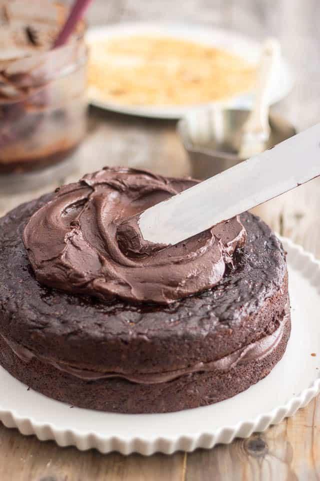 Healthy Chocolate Zucchini Cake  Paleo Zucchini Chocolate Cake