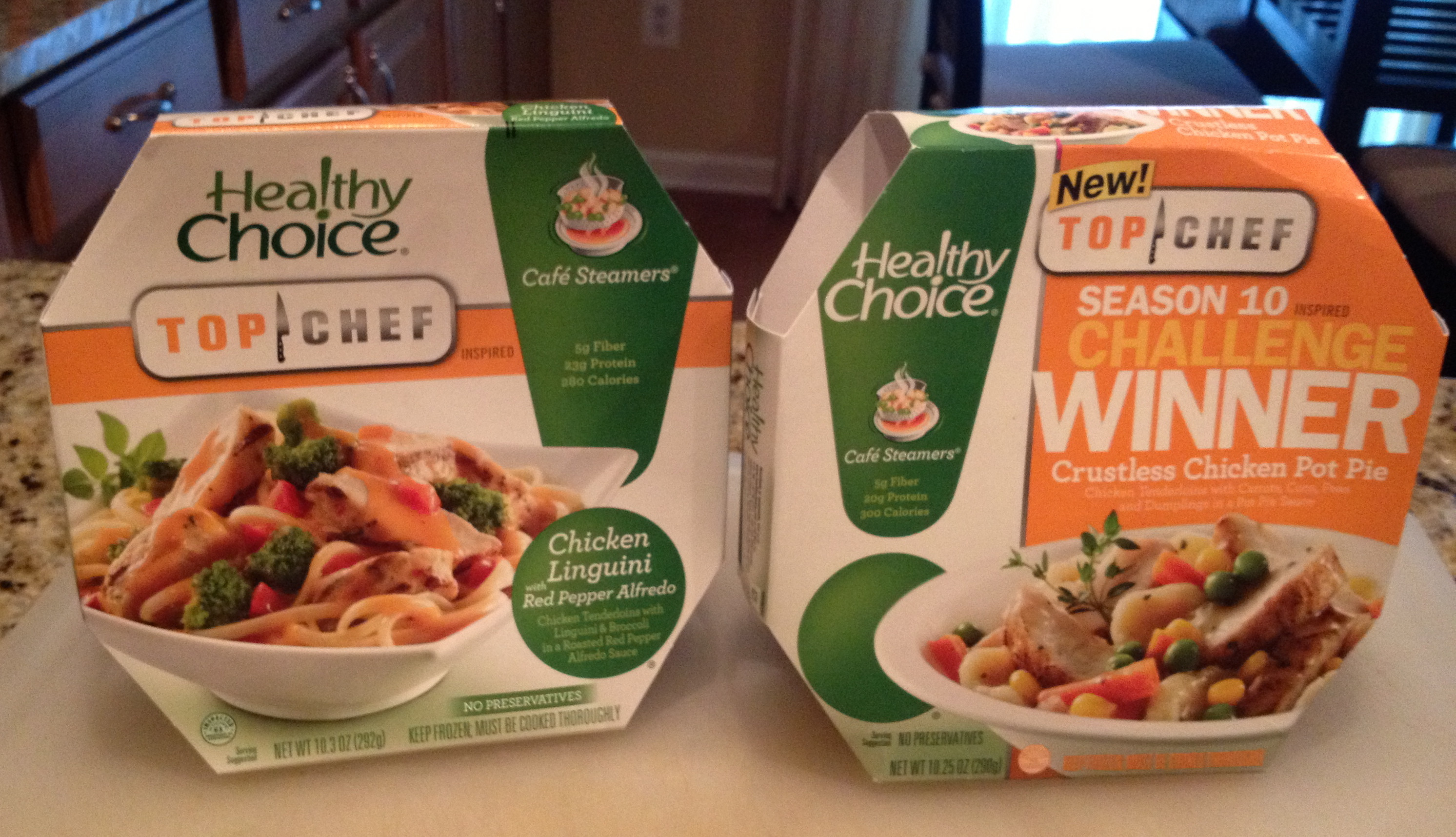 Healthy Choice Crustless Chicken Pot Pie  It s Steamy Outside But I m Cool Tasting Frozen Foods A