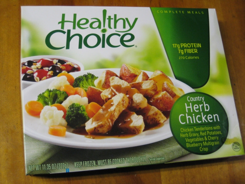 Healthy Choice Crustless Chicken Pot Pie  healthy choice steamers coupons