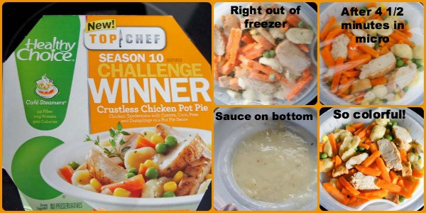Healthy Choice Crustless Chicken Pot Pie  Eating Right Exercising More And Making HealthyChoices