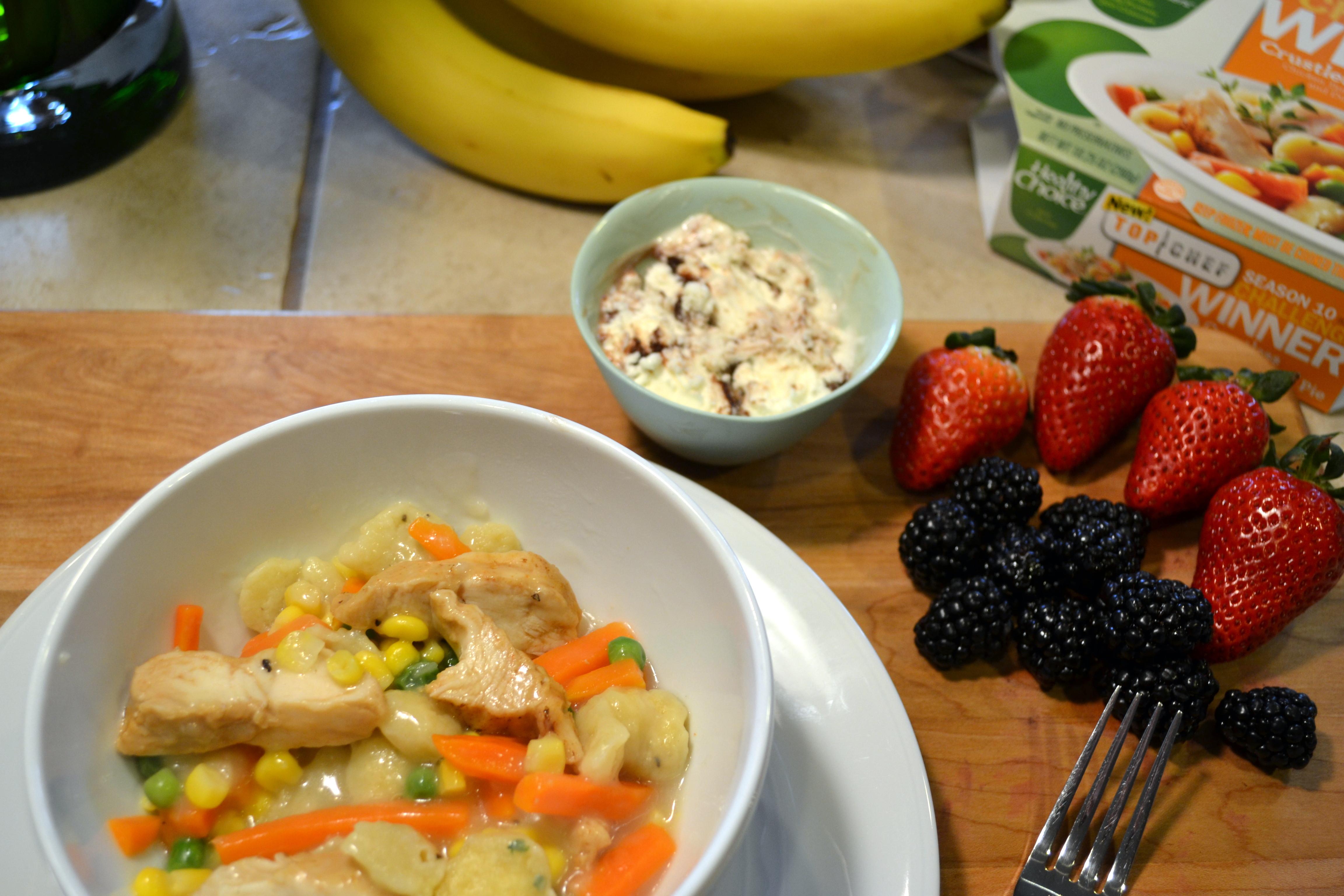 Healthy Choice Crustless Chicken Pot Pie  Healthy Choice Greek Frozen Yogurt Archives Dad Logic