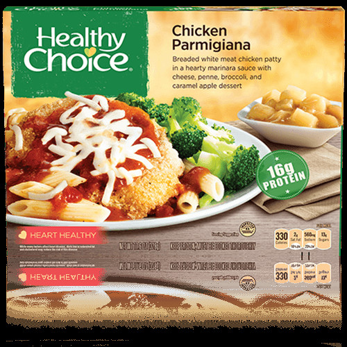 Healthy Choice Dinners  healthy choice meatloaf