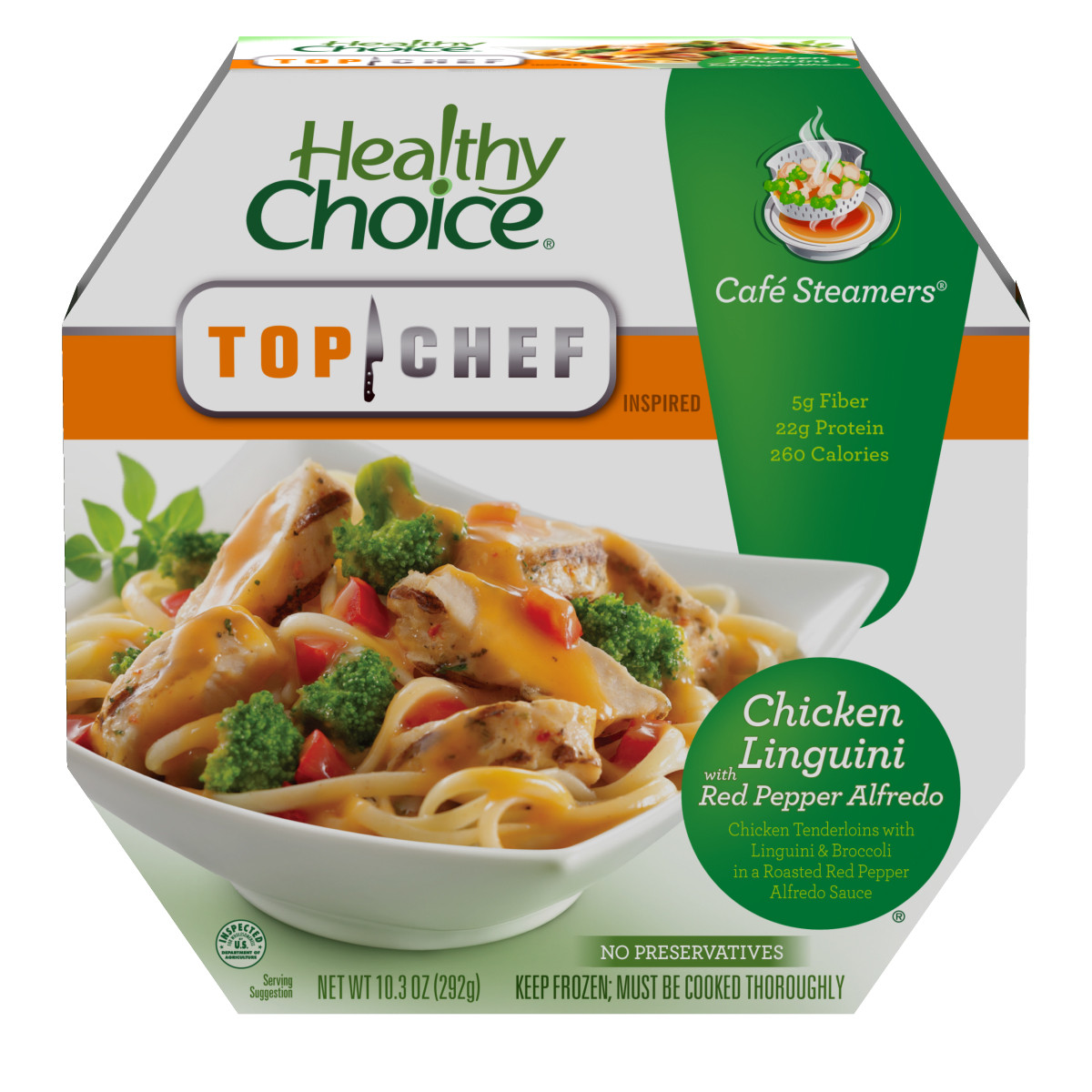 Healthy Choice Dinners  Healthy Choice Top Chef Cafe Steamers Inspired Meals
