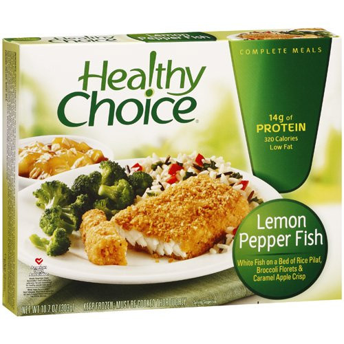 Healthy Choice Tv Dinners  Individual Meals Lean MinuteGrocery Shop in a Minute