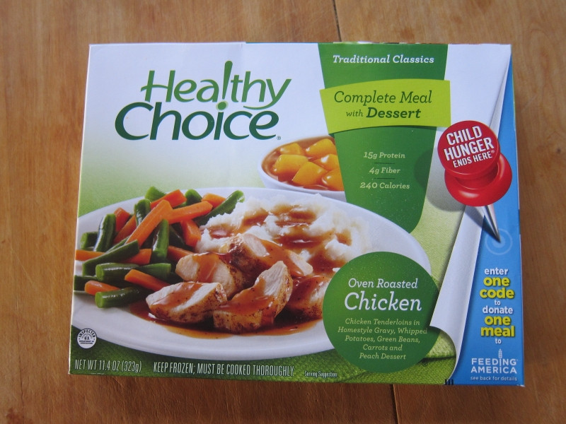 Healthy Choice Tv Dinners  Frozen Friday Healthy Choice Oven Roasted Chicken