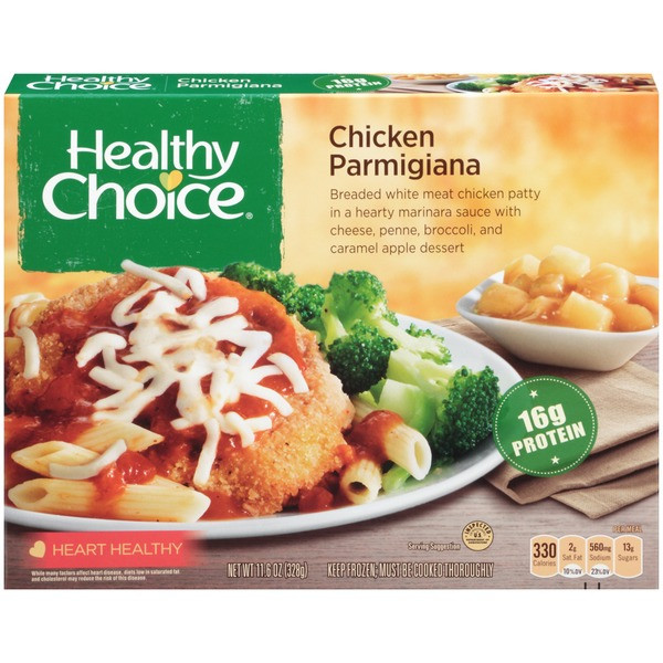 Healthy Choice Tv Dinners  Kroger Healthy Choice Chicken Parmigiana plete Meals