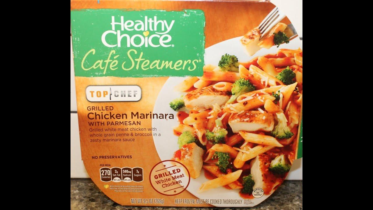 Healthy Choice Tv Dinners  Healthy Choice Café Steamers Grilled Chicken Marinara