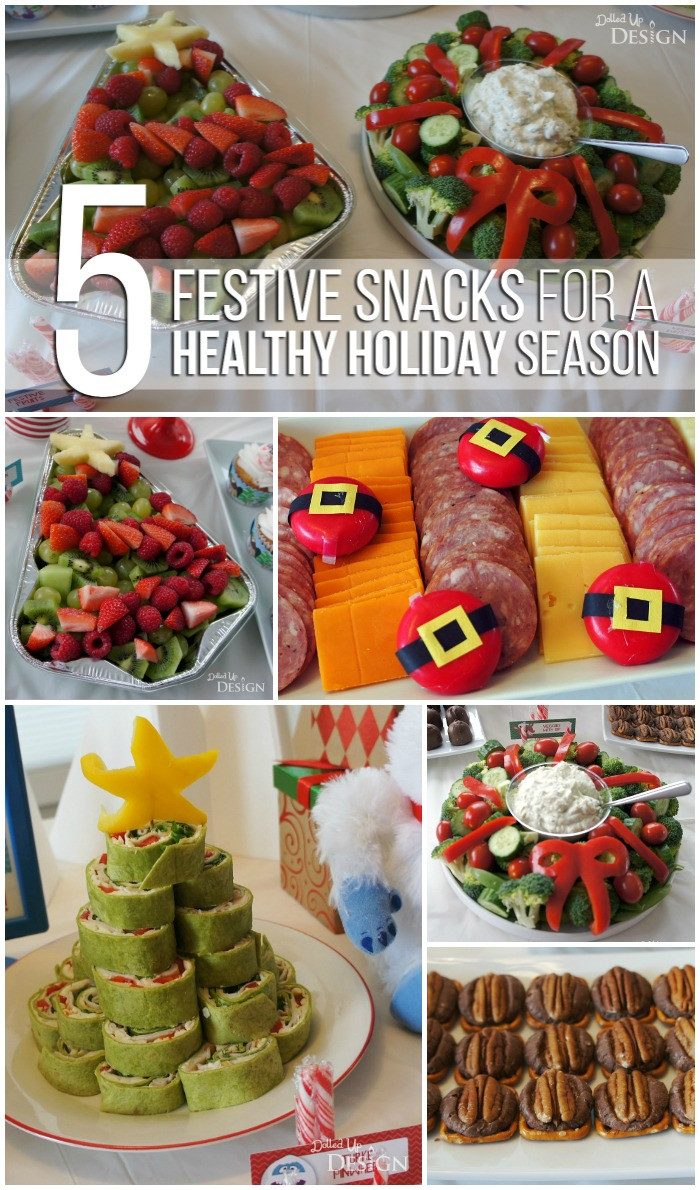 Healthy Christmas Party Snacks  Healthy Holiday Party Food Moms & Munchkins