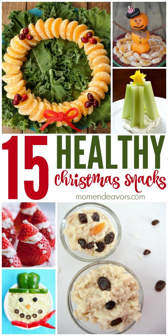 Healthy Christmas Party Snacks  15 Healthy Christmas Treats & Snacks