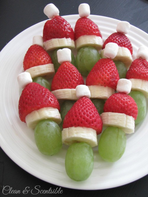 Healthy Christmas Snacks  Healthy Christmas Food Ideas for Kids Clean and Scentsible