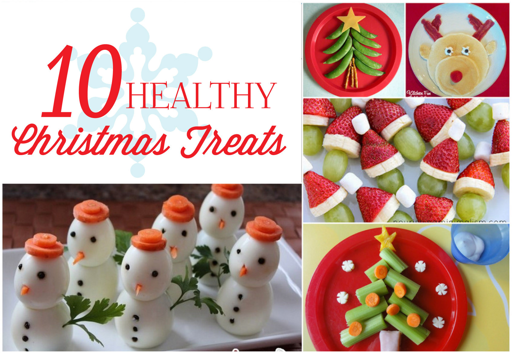Healthy Christmas Snacks For School Parties  Holidays Healthy Christmas Treats Mirabelle Creations