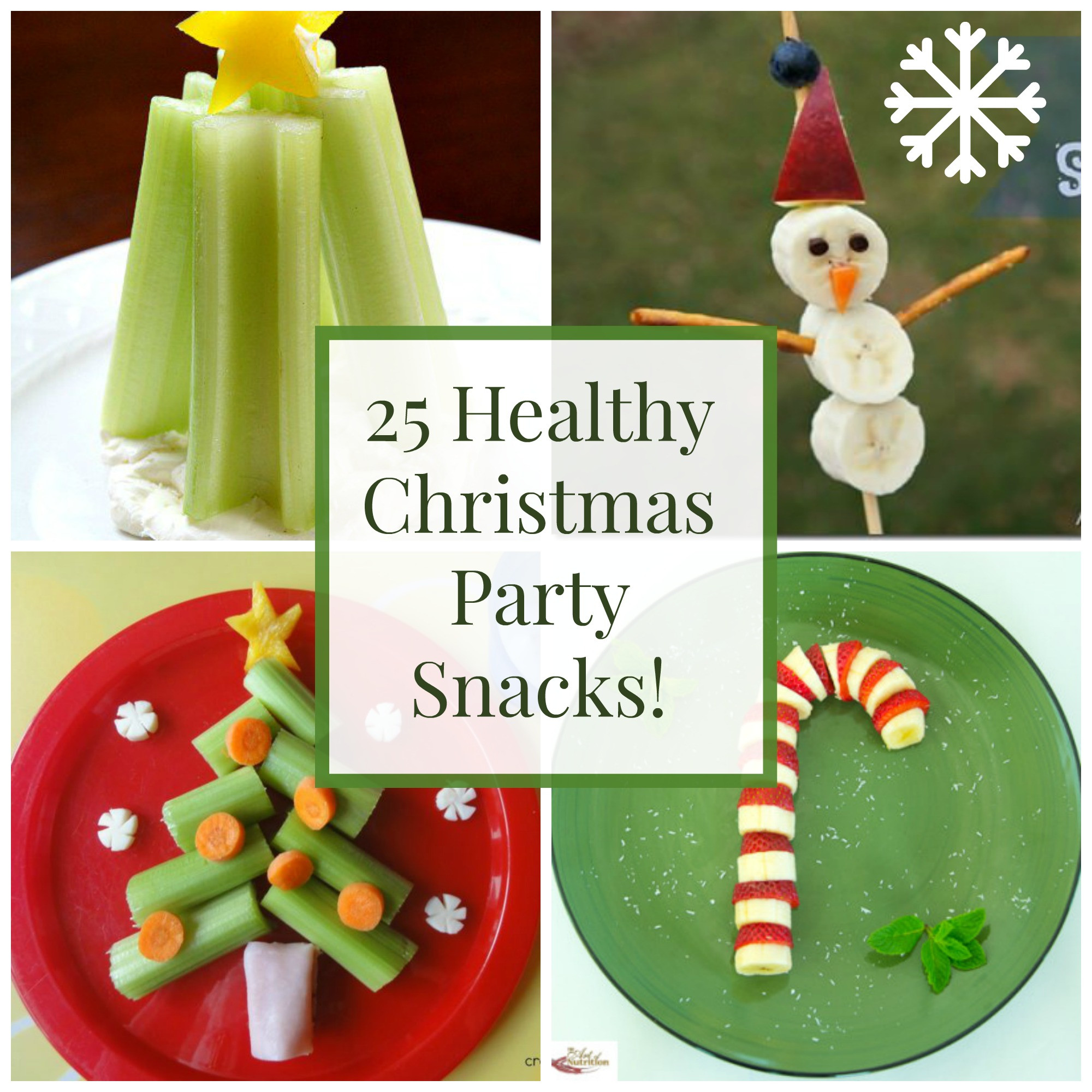Healthy Christmas Snacks For School Parties  25 Healthy Christmas Snacks and Party Foods