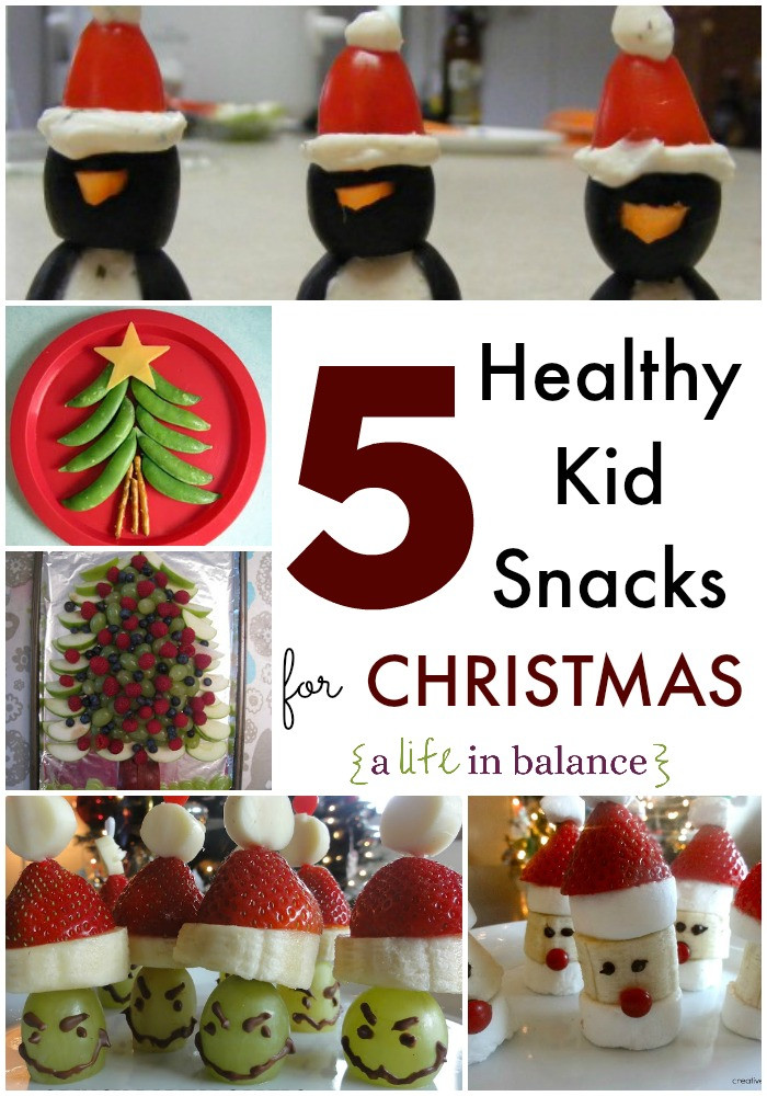 Healthy Christmas Snacks For School Parties  Healthy Christmas Snacks for Kids