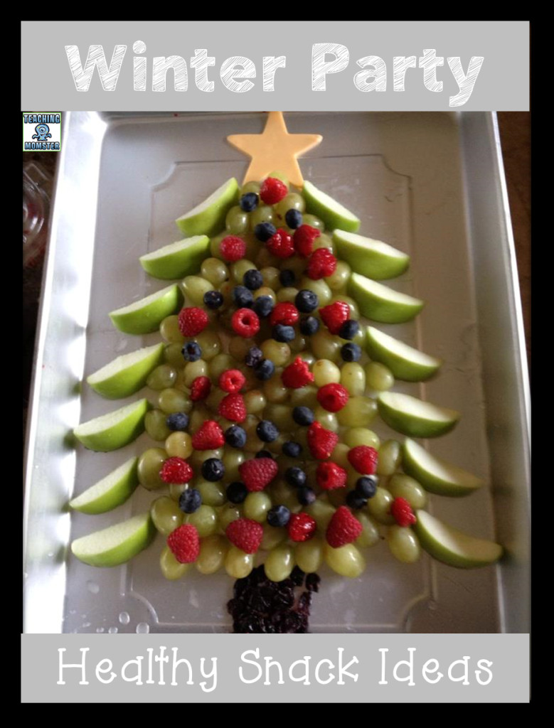 Healthy Christmas Snacks For School Parties  Winter Party Snack Ideas for the Classroom Teaching Momster