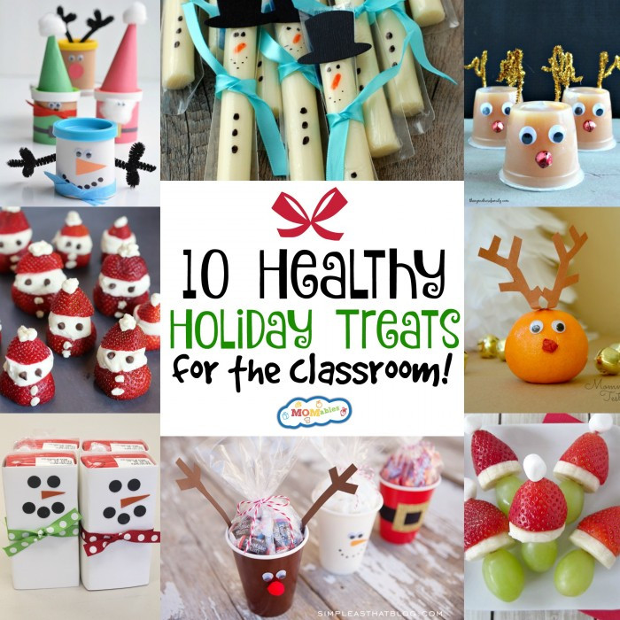 Healthy Christmas Snacks For School Parties  10 Healthy Holiday Treats for the Classroom MOMables