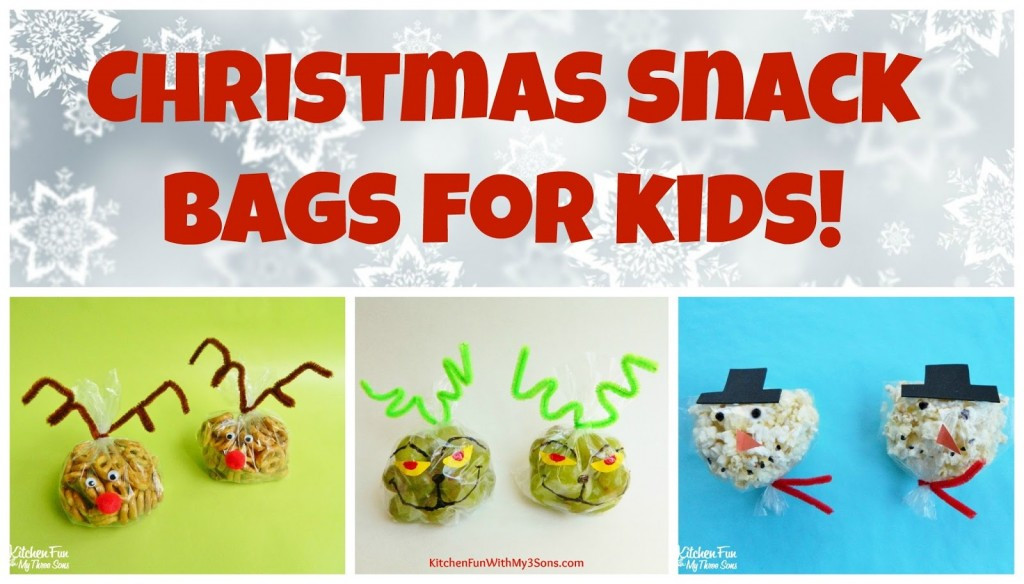 Healthy Christmas Snacks For School Parties  Christmas Snowman Snack Bags for Class Parties at School