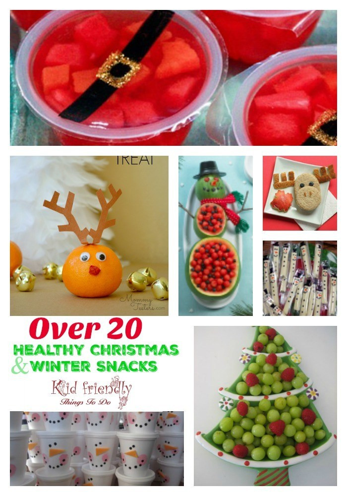 Healthy Christmas Snacks For School Parties  Fruit & More Over 20 Non Candy Healthy Kid s Christmas