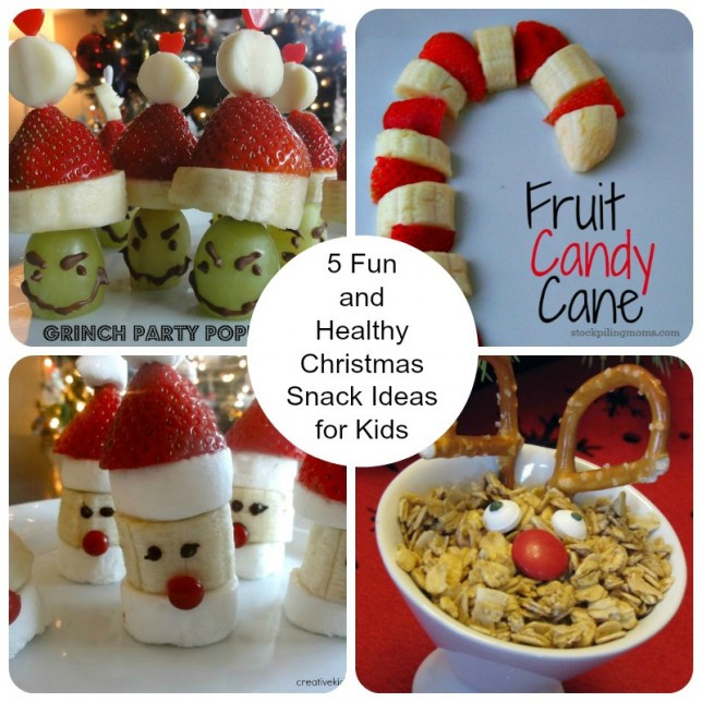 Healthy Christmas Snacks  5 Fun and Healthy Christmas Snack Ideas for Kids Up Run