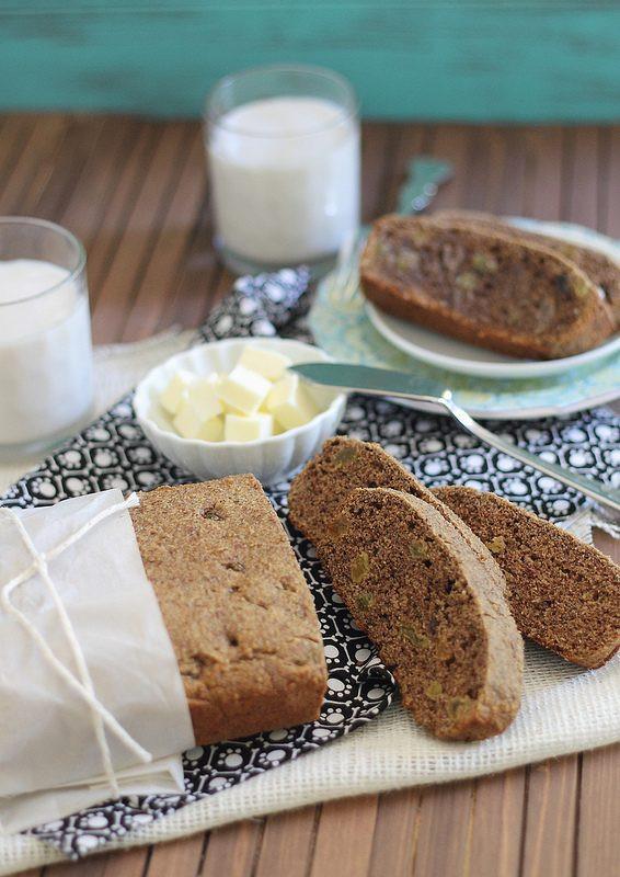 Healthy Cinnamon Bread  Healthy cinnamon raisin bread