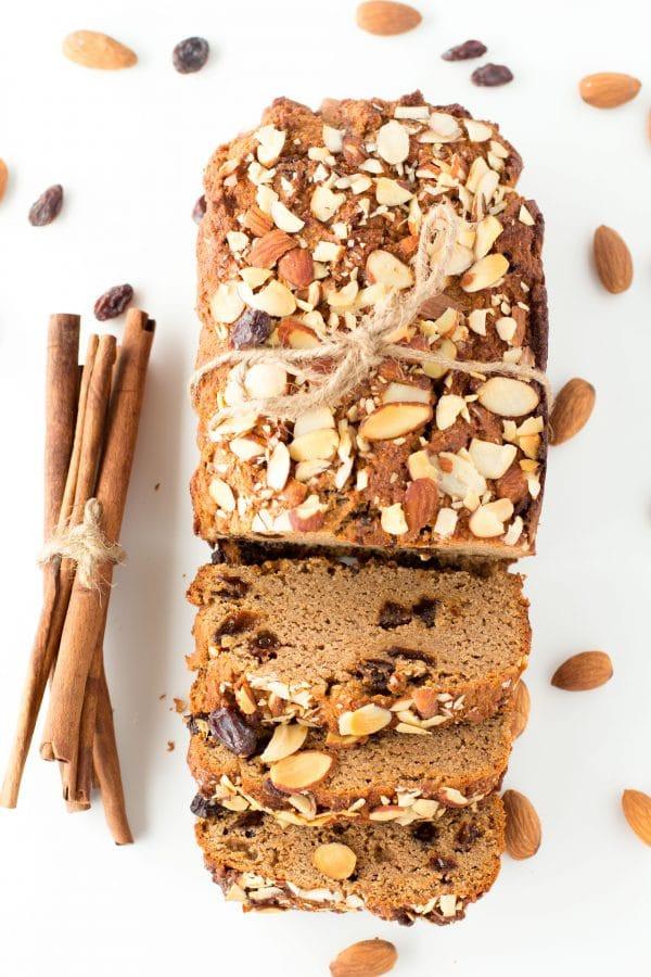 Healthy Cinnamon Bread  Paleo Cinnamon Raisin Bread Healthy Low Carb