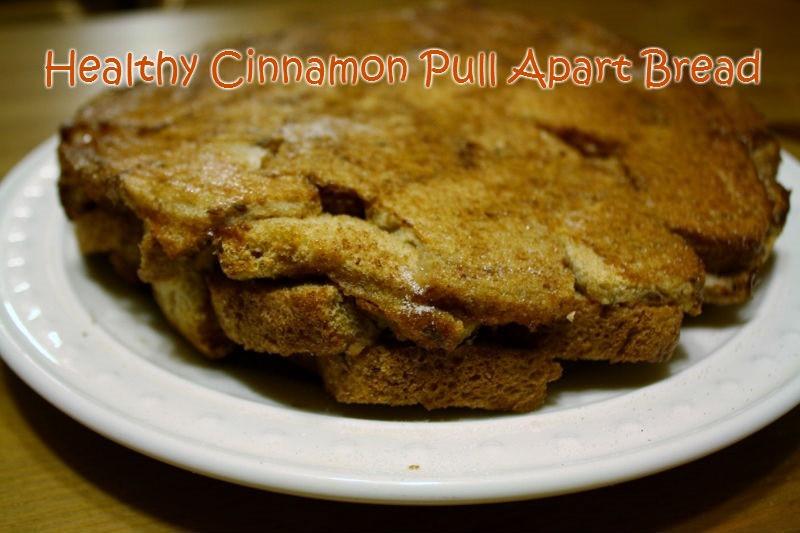 Healthy Cinnamon Bread  Healthy Cinnamon Pull Apart Bread Recipe