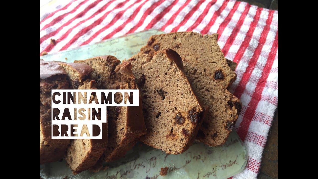 Healthy Cinnamon Bread  Healthy Cinnamon Raisin Bread Recipe