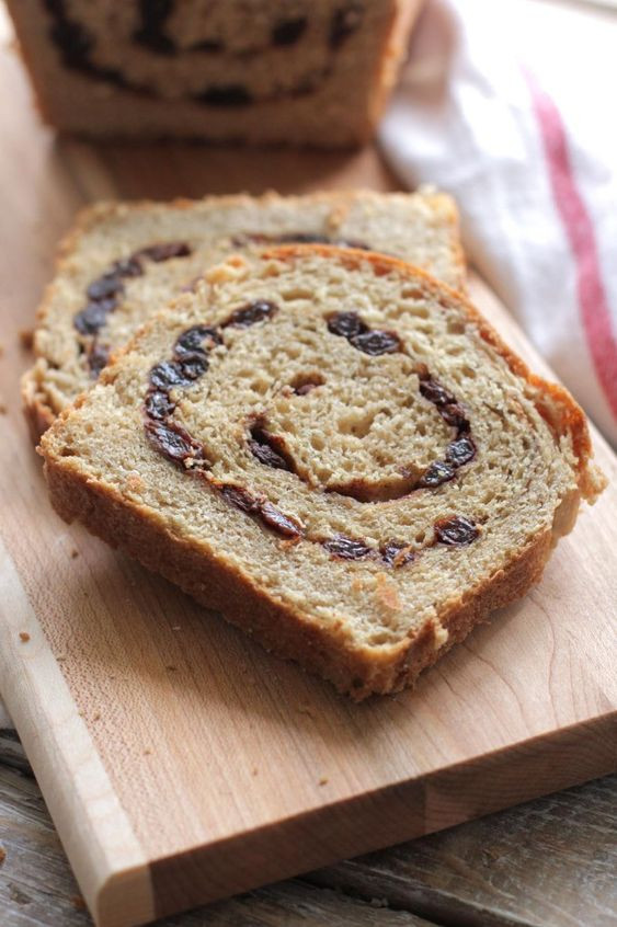 Healthy Cinnamon Raisin Bread  Pinterest • The world's catalog of ideas
