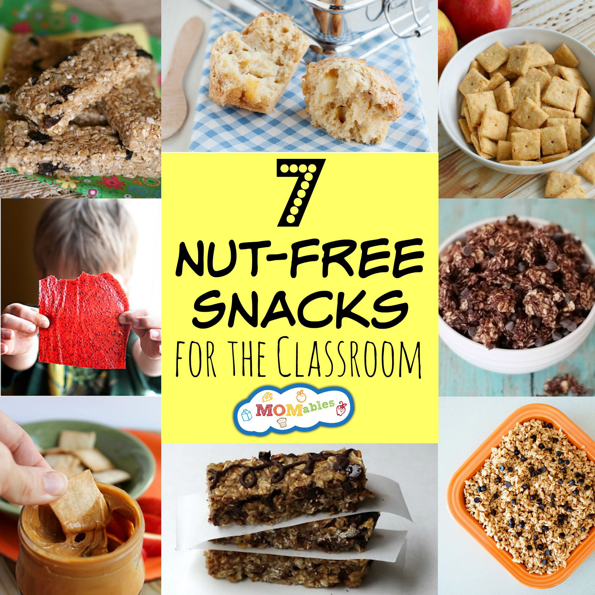 Healthy Class Snacks  7 Nut Free Snacks for the Classroom & Lunchbox MOMables
