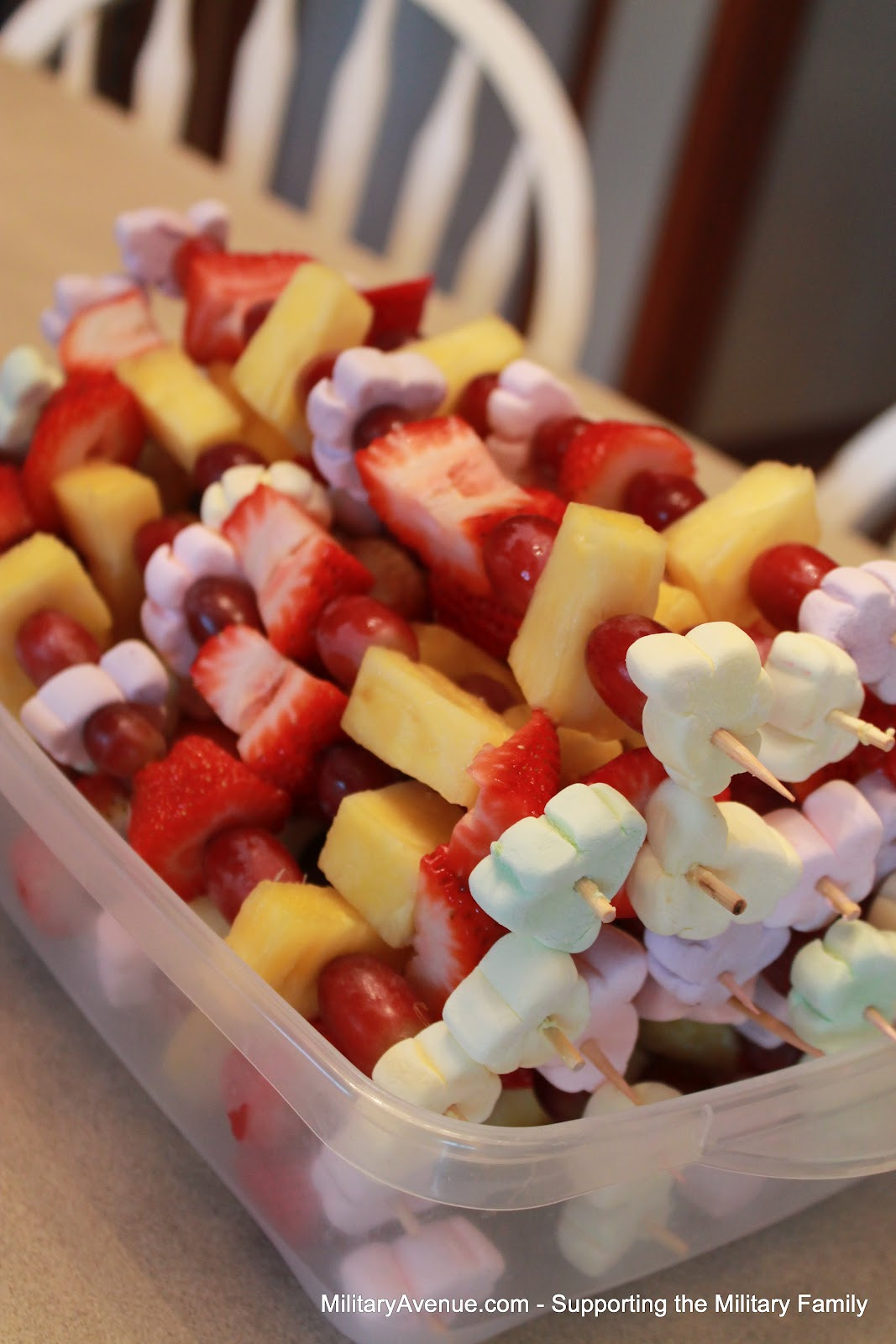 Healthy Class Snacks  The Military Family Perfectly Sweet Healthy Birthday Snack