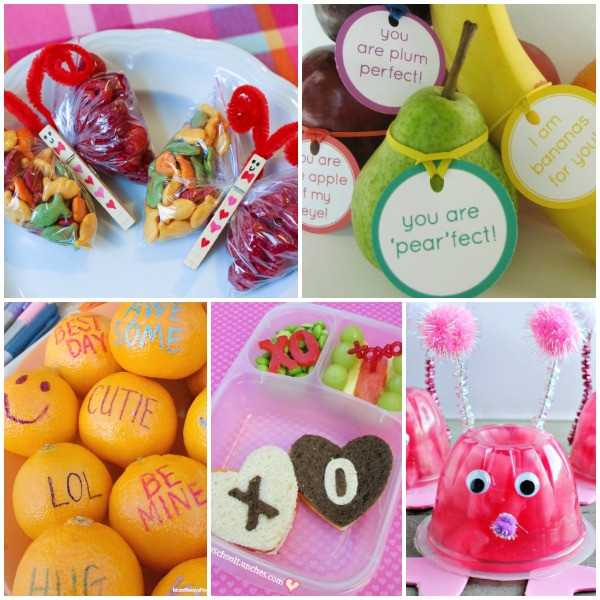 Healthy Class Snacks  14 Healthy Valentine s Day Snacks Fantastic Fun & Learning