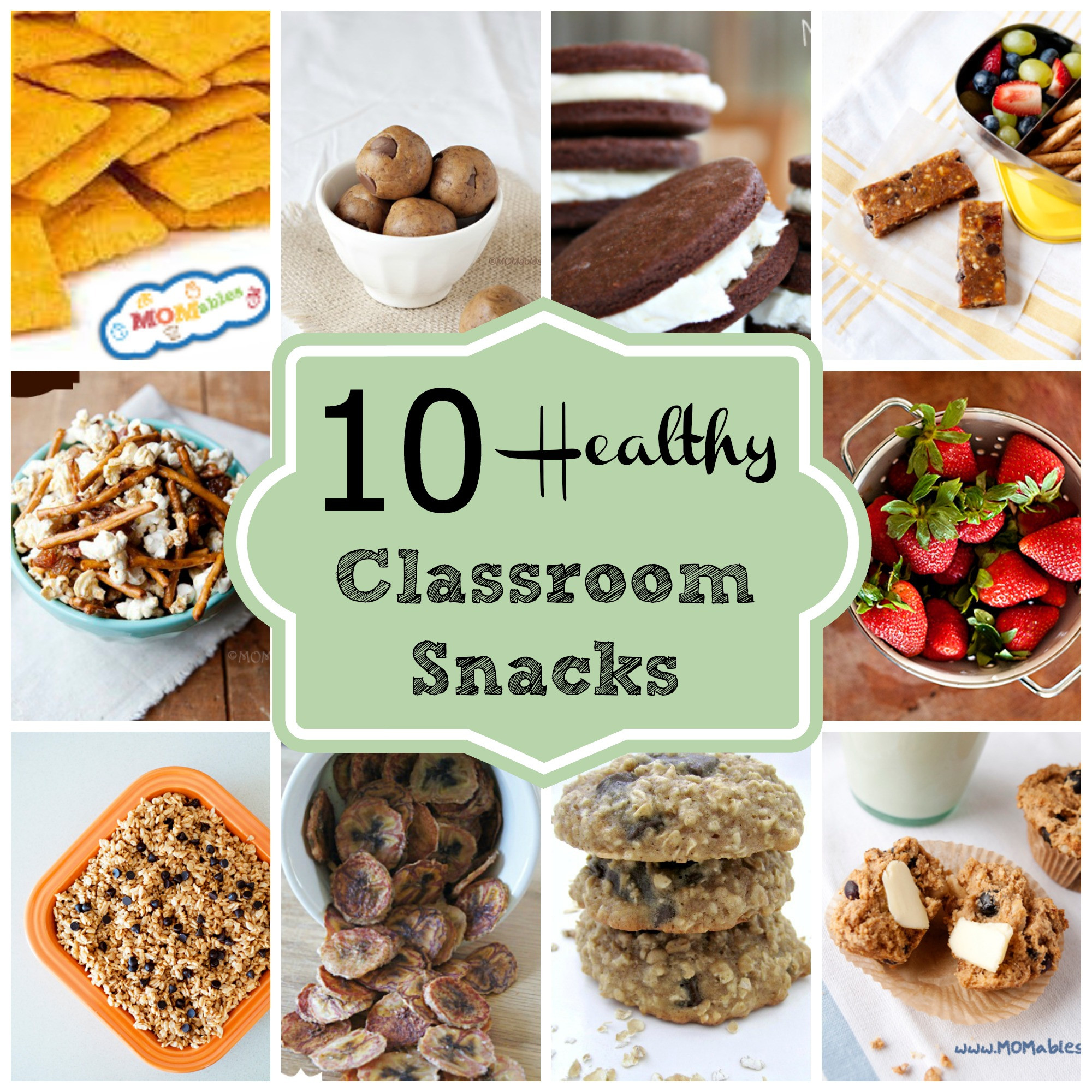 Healthy Class Snacks  10 Healthy Classroom Snacks