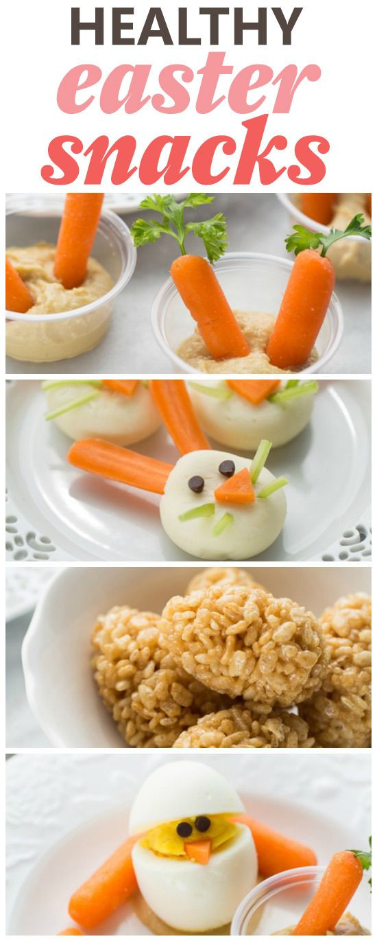 Healthy Class Snacks  17 Best ideas about Easter Snacks on Pinterest
