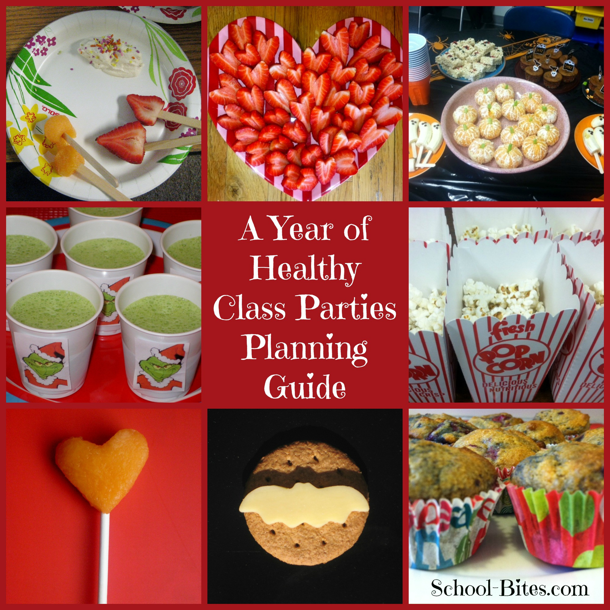 Healthy Classroom Snacks  A Year of Healthy Class Parties A Planning Guide for