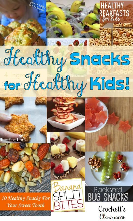 Healthy Classroom Snacks  Snacks in the Classroom Crockett s Classroom Forever in