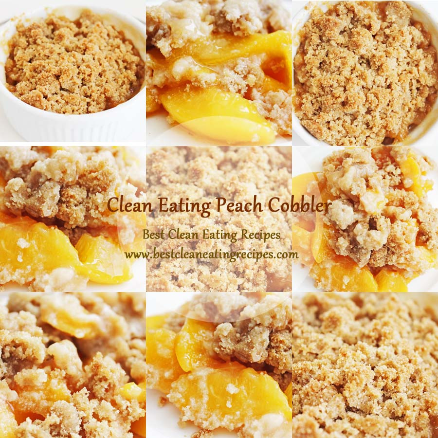 Healthy Clean Eating Recipes  Healthy Dessert Clean Eating Peach Cobbler