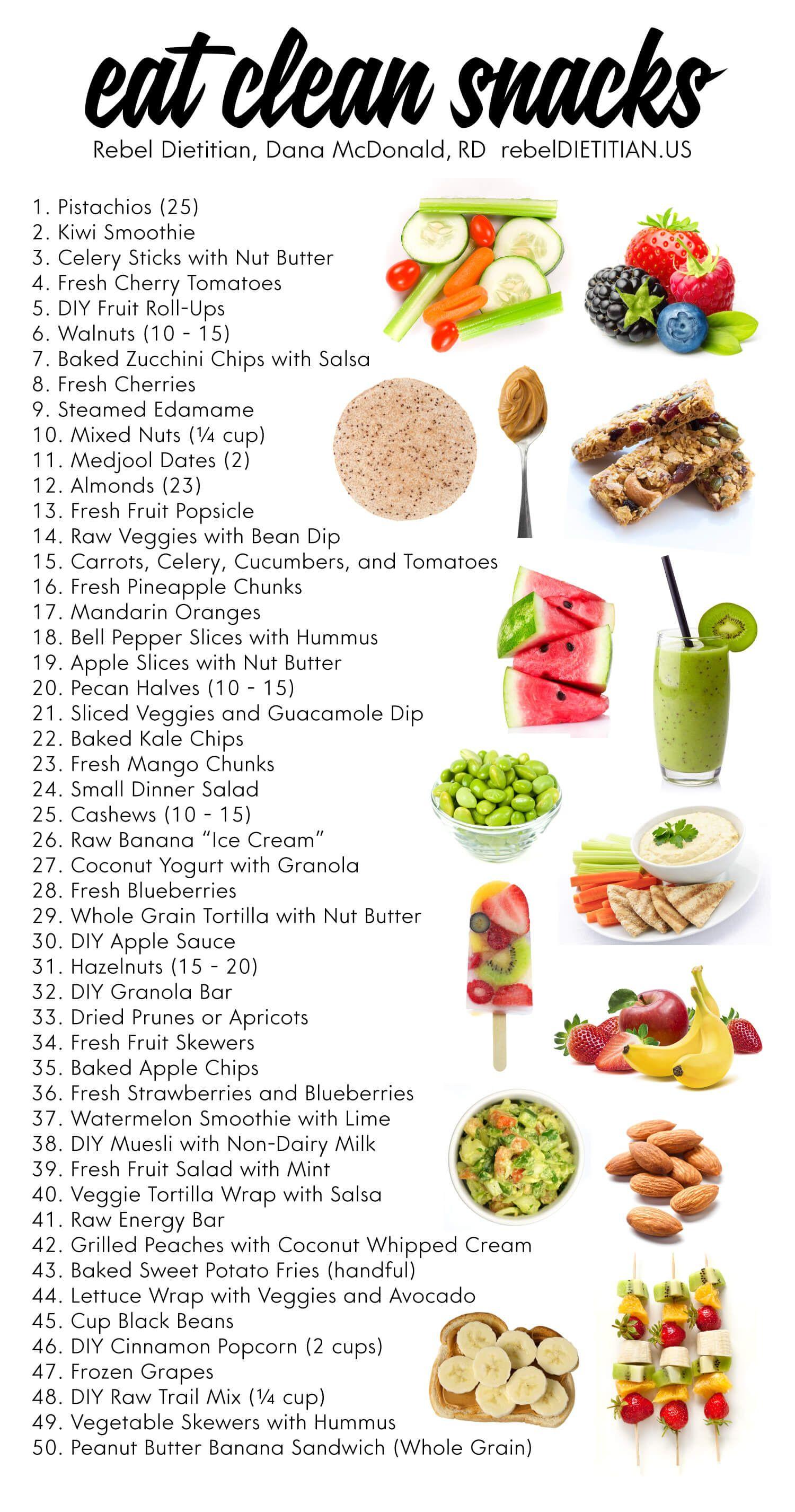 Healthy Clean Eating Snacks  Updated Healthy Snack Ideas Vegan