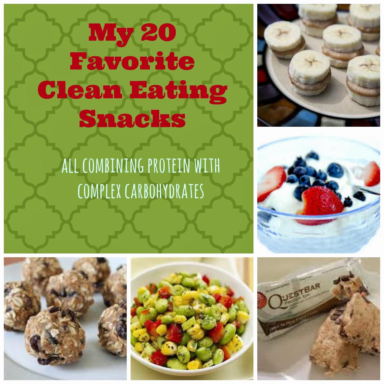 Healthy Clean Snacks  BYOB Be ing Your Own Best My 20 Favorite Clean Eating