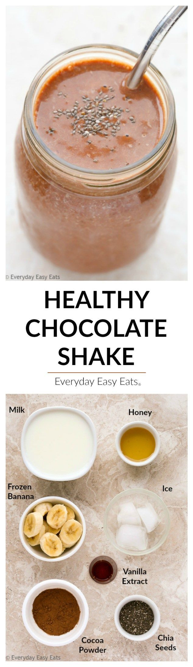 Healthy Cocoa Powder Recipes  Best 25 Healthy chocolate shakes ideas on Pinterest