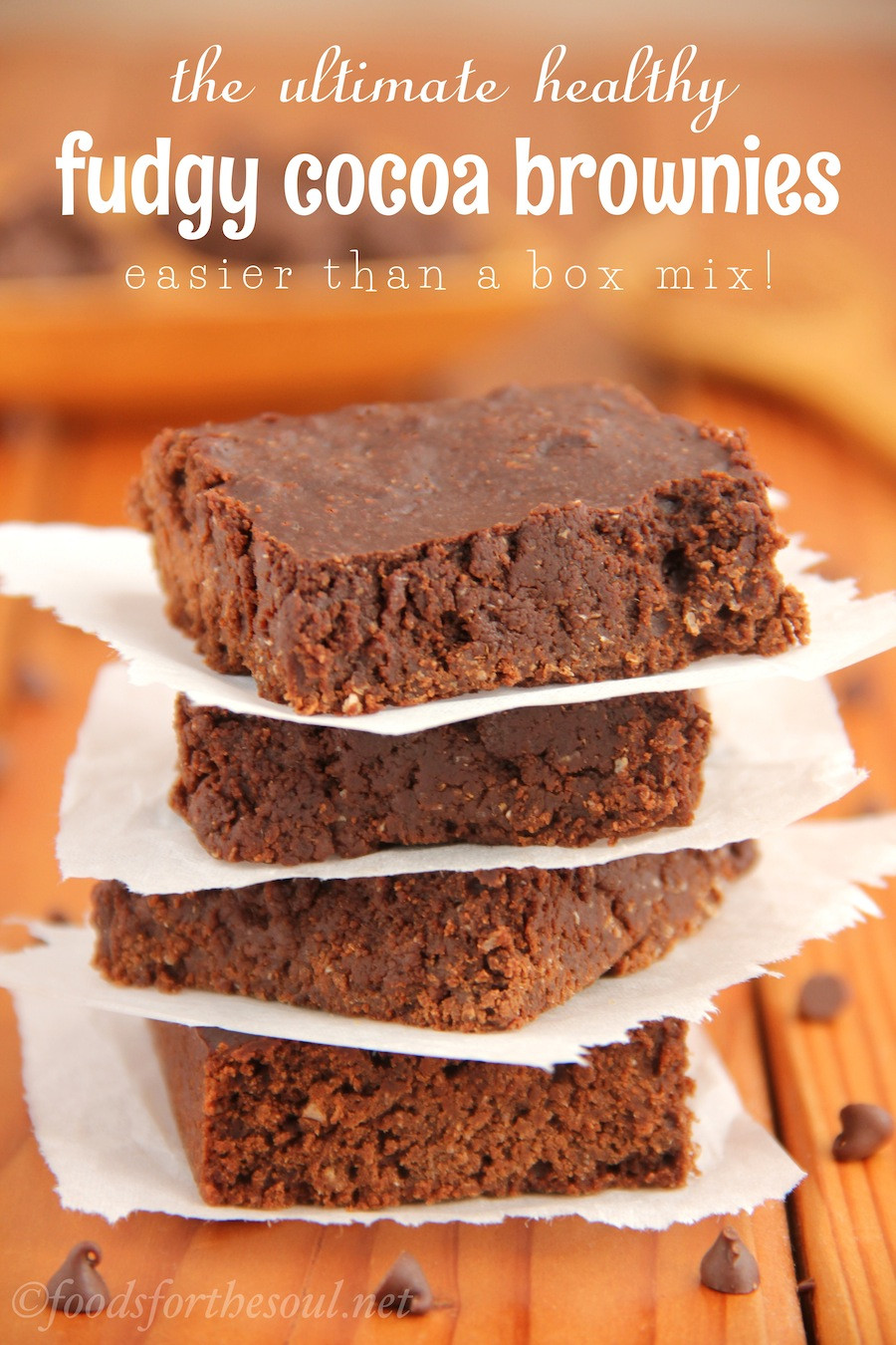 Healthy Cocoa Powder Recipes  The Ultimate Healthy Fudgy Cocoa Brownies