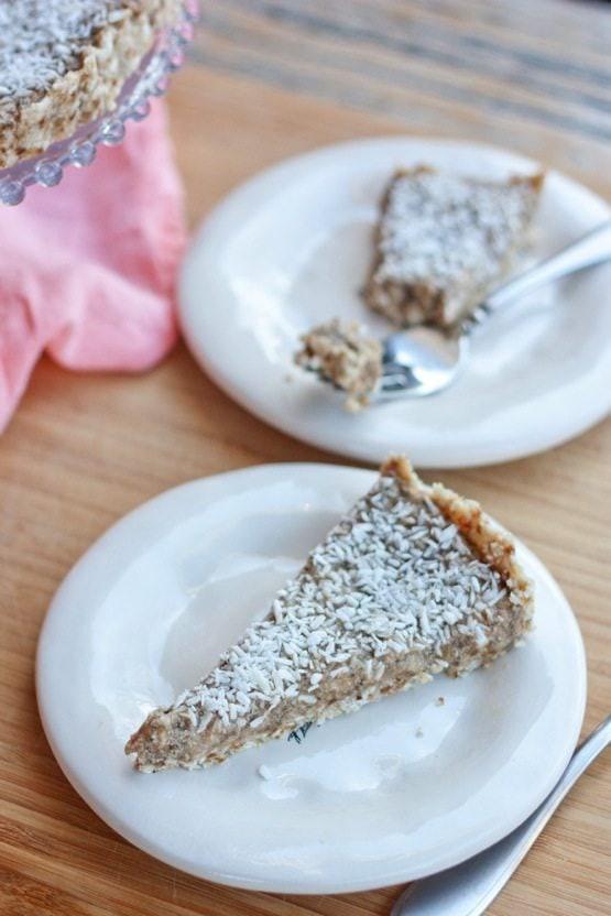 Healthy Coconut Cream Pie  Healthy Coconut Cream Pie & Pi Day Roundup Eating Bird Food