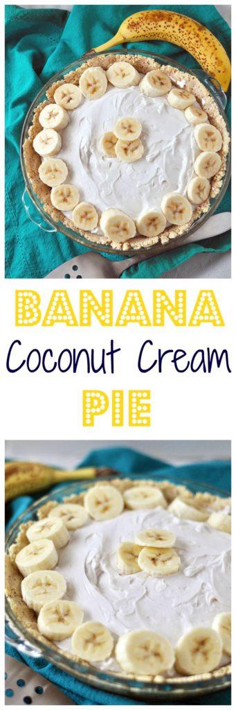 Healthy Coconut Cream Pie  Healthy Banana Coconut Cream Pie My Whole Food Life