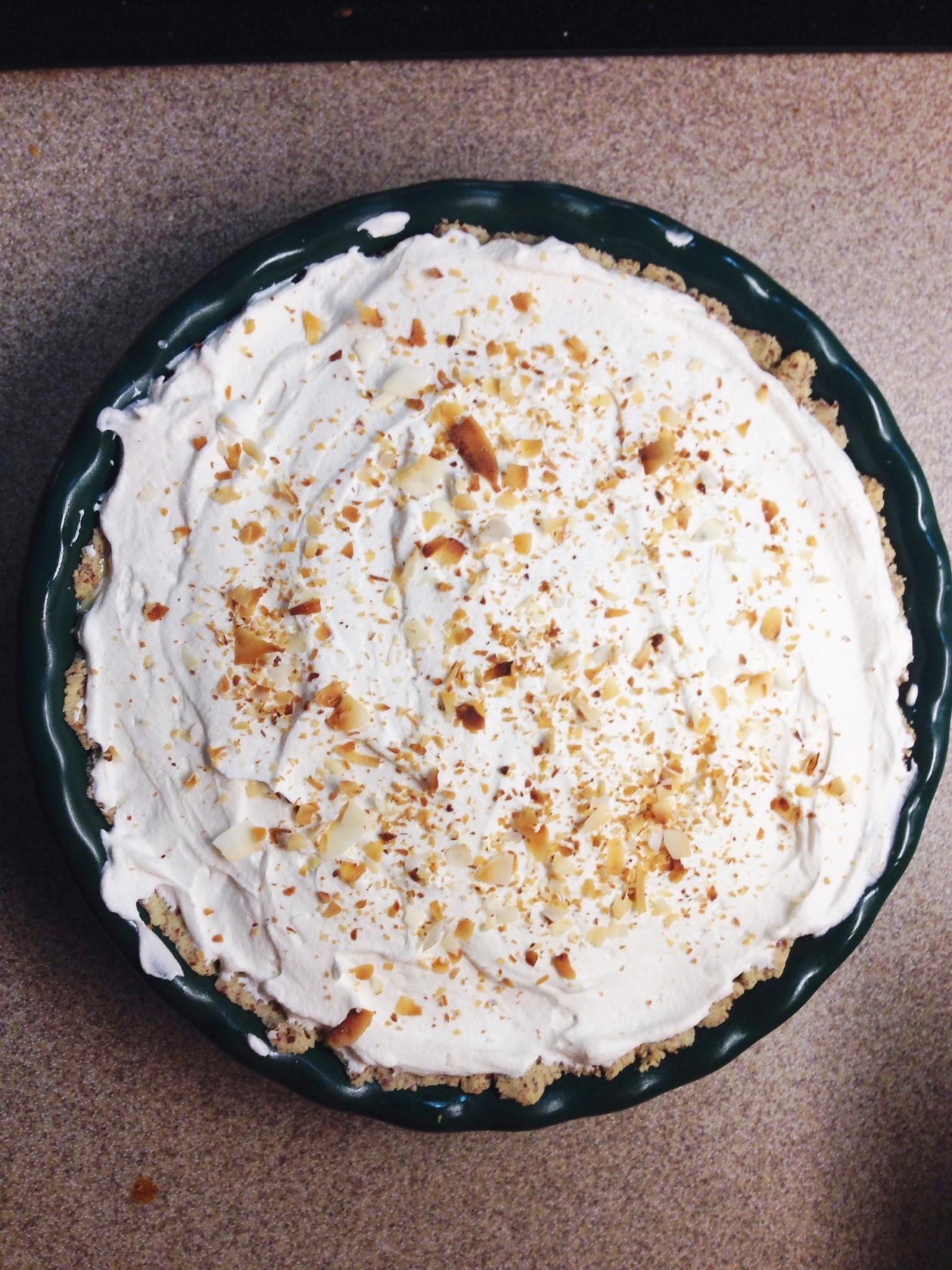 Healthy Coconut Cream Pie  THM Coconut Cream Pie Mrs Criddles Kitchen