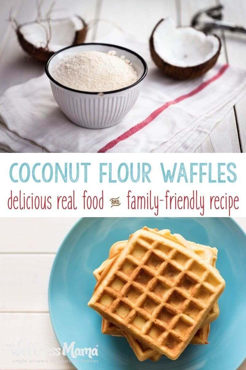 Healthy Coconut Flour Recipes  Coconut Flour Waffles Recipe