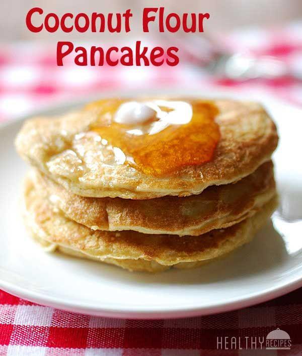 Healthy Coconut Flour Recipes  Coconut Flour Pancakes Recipe