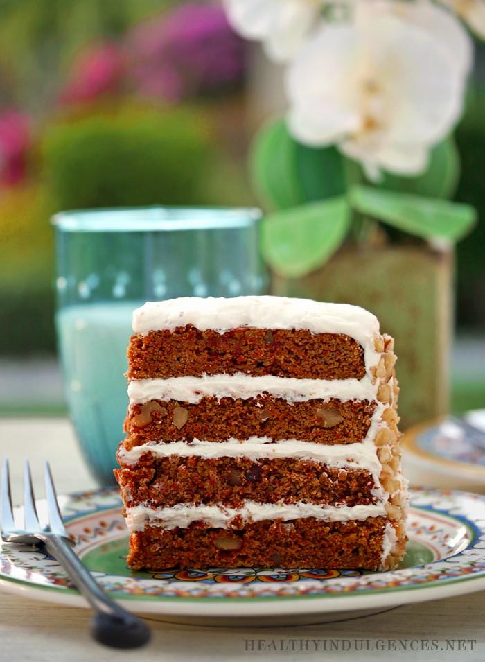 Healthy Coconut Flour Recipes  Happy Easter Healthier Carrot Cake Recipe Update Sugar