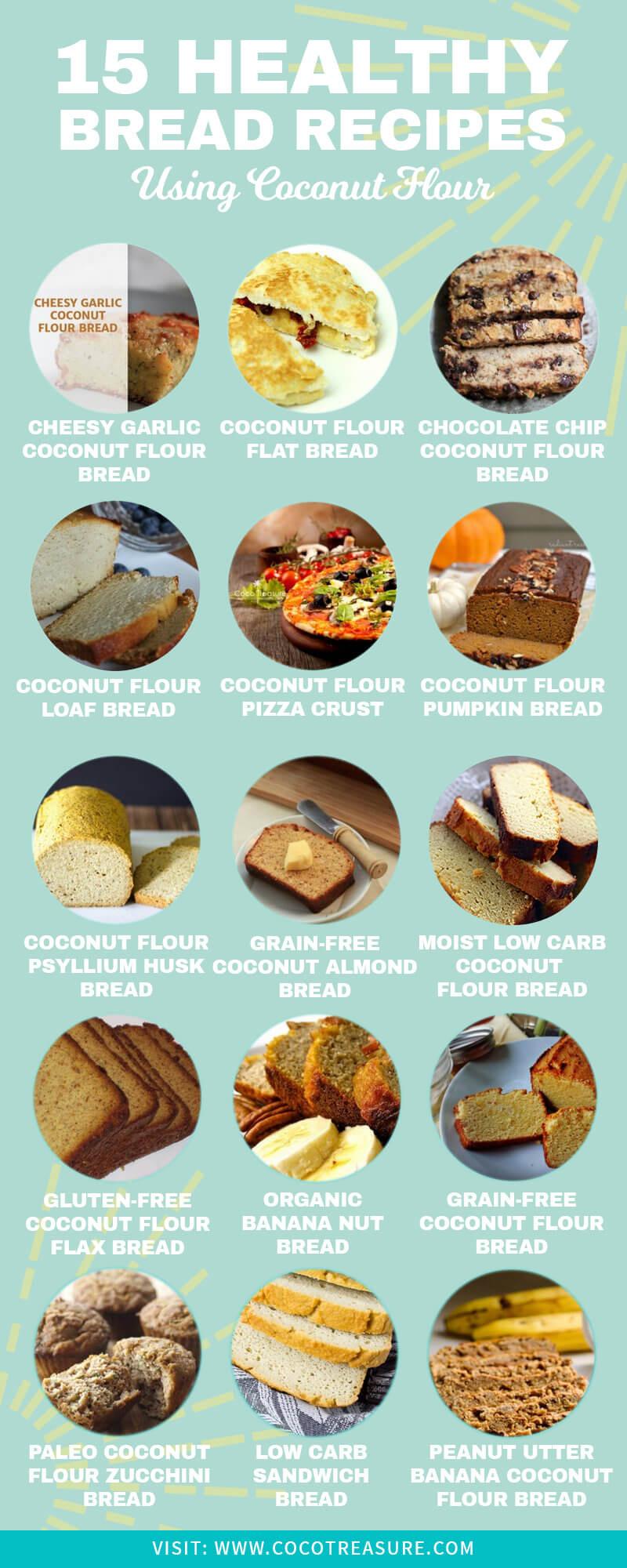 Healthy Coconut Flour Recipes  15 Healthy Coconut Flour Bread Recipes Coco Treasure