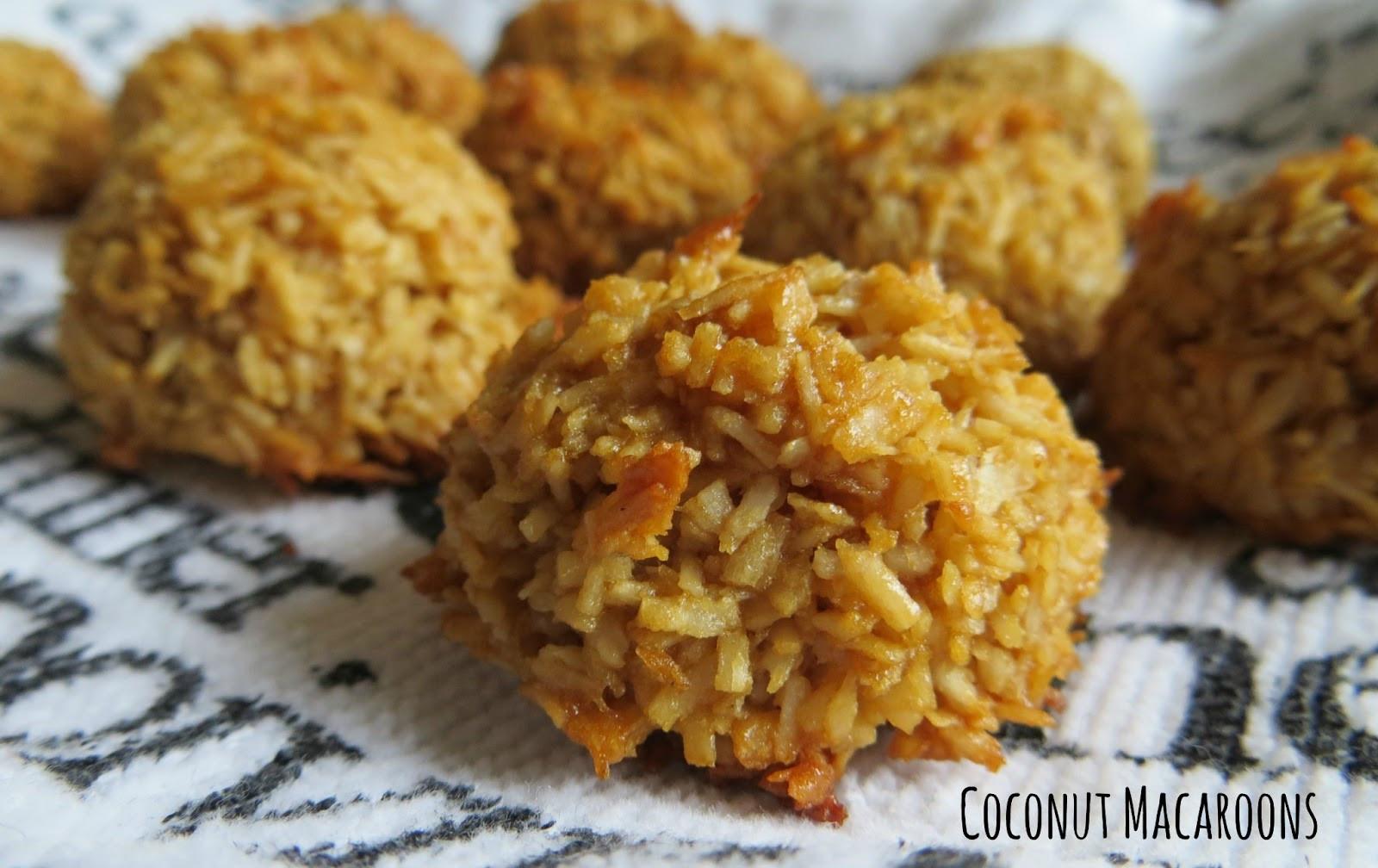 Healthy Coconut Macaroons Recipe  Healthier Coconut Macaroons Cooking Quidnunc