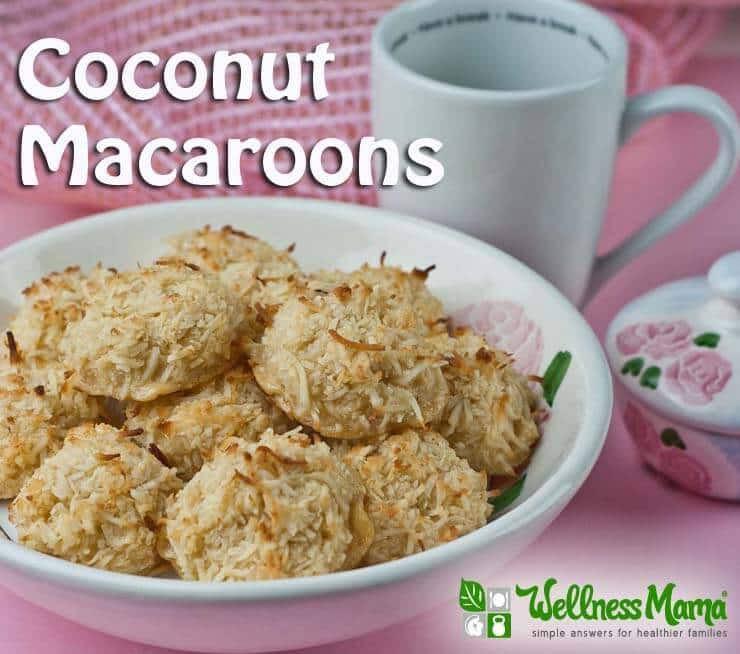 Healthy Coconut Macaroons Recipe  Healthy Coconut Macaroons Recipe