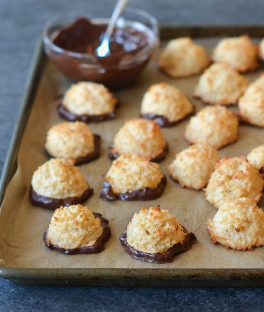 Healthy Coconut Macaroons Recipe  Coconut Macaroons ce Upon a Chef