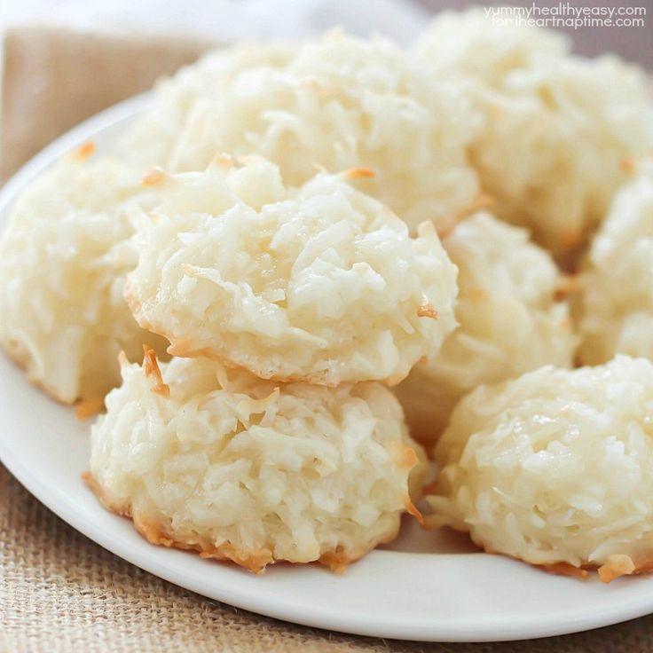 Healthy Coconut Macaroons Recipe  Easy Coconut Macaroons recipe on iheartnaptime